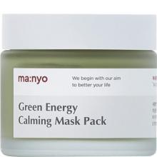 Глиняная маска для лица от воспалений с охлаждающим эффектом Green Energy Calming Mask Pack